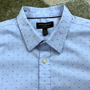 Banana Republic Button Down Slim Fit Shirt